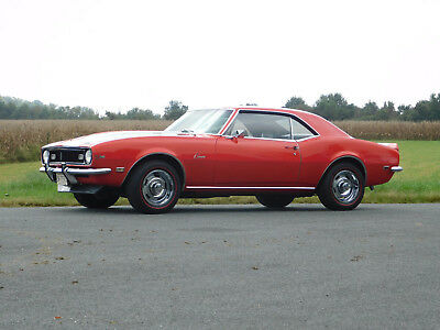 1968 Chevrolet Camaro Z-28, Documented 72K Miles, Protect-O-Plate 302 c.i./ 290 h.p.; M-21 4-Speed, 3.73 Gears Posi, Excellent Condition (video)