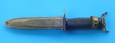 US M7 Fighting Knife / Bayonet ( BOC) With US M8A1 Sheath Scabbard (PWH)