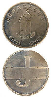 JONASSON'S. NEW  Attribution number CHARGE COIN  TYL   PA-765-JONC
