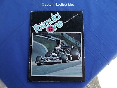 1974 Softcover Book Formula One 74 Lyons Gilligan Grand Prix Ferrari McLaren