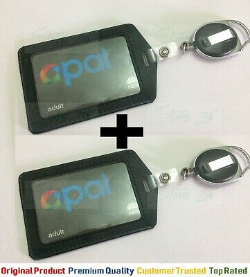 2 x Retractable  ID Badge Opal Card Holder Pass ID | AUS STOCK $7.99 Only