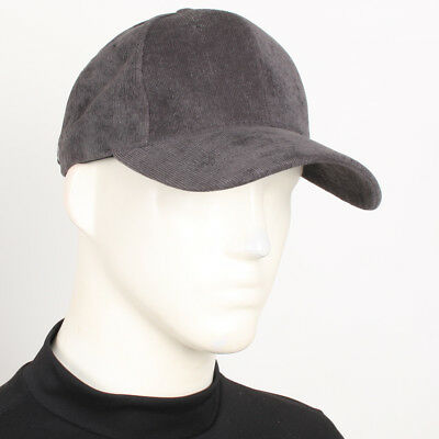 NEW Unisex Corduroy Casual Baseball Cap Fashion JHN Military Newsboy Hat