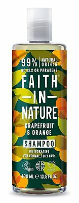 Faith in Nature - Pamplemousse/Orange Shampooing - 400 ml