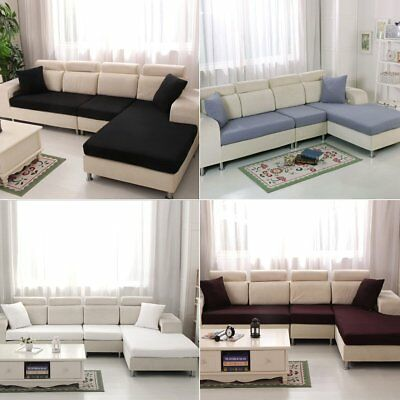 Sofa Cover Elastic Slipcover Lounge Seat Couch Covers Pad Stretch Non Slip Decor