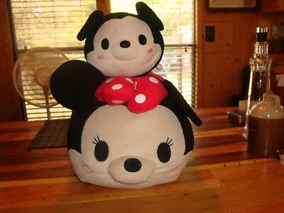 "Disney Store Exclusive Tsum Tsum 20"" Minnie Mouse-1 Tsum Tsum Mickey Mouse Plush"