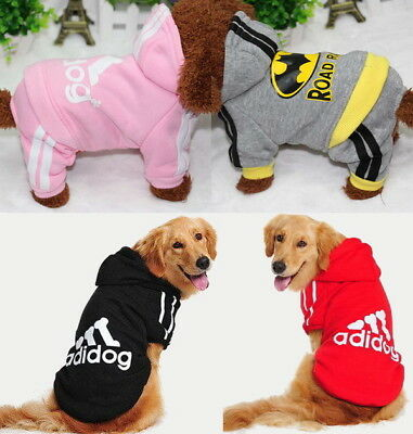Puppy Small & Large Pet Dog Cat Winter Clothes Coat Shirt Jacket Hoodie Jumpsuit
