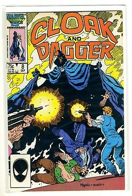 CLOAK AND DAGGER 8 F-VF Marvel