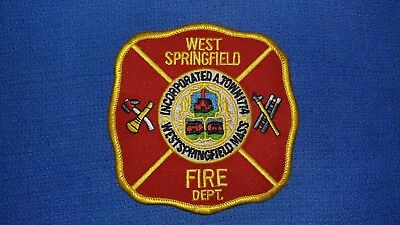 West Springfield Fire Patch