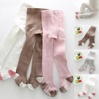 0-6T Baby Toddler Kids Girls Tights Pantyhose Soft Warm Long Socks Hosiery US