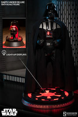 New Sideshow Collectibles 6Th Scale Darth Vader Deluxe Figure