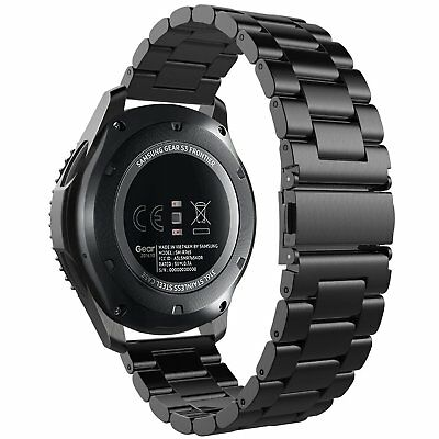 Gear S3 Frontier /S3 Classic Band /Samsung Galaxy 46 Band, Stainless Steel Band