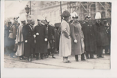 Vintage Postcard Prince Henry of Prussia & Royalty at King Leopold II Funeral