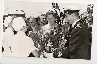 Vintage Postcard King Albert II & Queen Paola of Belgium
