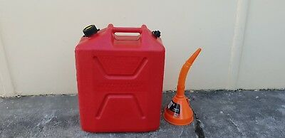Proquip jerry Can 20l Red Plastic Unleaded Fuel Can With Pourer