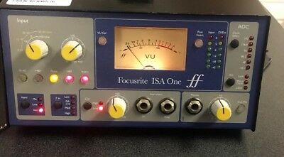 Focusrite ISA One Single Channel Micpre Microphone Pre Amplifier A+