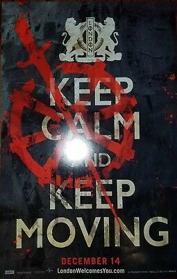 NYCC 2018 Mortal Engines Keep Calm And Keep Moving 11x17 Promo Poster Brand New