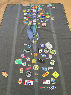 Scout camp blanket
