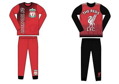 Boys Kids Children Teenage Liverpool FC Pyjamas PJ/'s Pyjama Set Sleepwear 4-12Y