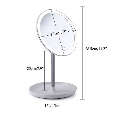 Portable & Rechargeable LED Vanity Makeup Mirror CE Rohs FCC Certificated