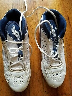 mens new balance cleats 8.5  2nd warrior navy blue/white Lacrosse