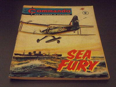 Commando War Comic Number 168 !!,1965 Issue,v Good For Age,53 Years Old,v Rare.