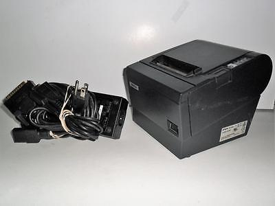 Epson TM-T88III M129C POS Thermal Receipt Printer w/power supply & cable