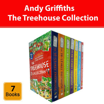 Andy Griffiths Treehouse collection 7 books set 13 26 39 52 65 78 91 Storey pack