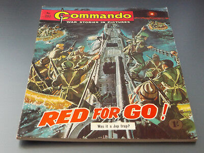 Commando War Comic Number 297 !!,1967 Issue,excellent For Age,51 Years Old,rare.