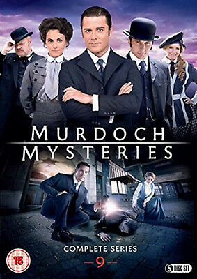 MURDOCH MYSTERIES COMPLETE SERIES 9 DVD Ninth Season Yannick Bisson UK New R2