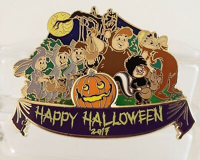 Disney Halloween 2017 Cast Exclusive Peter Pan's Lost Boys Le 1000 Pin-Free Shpg