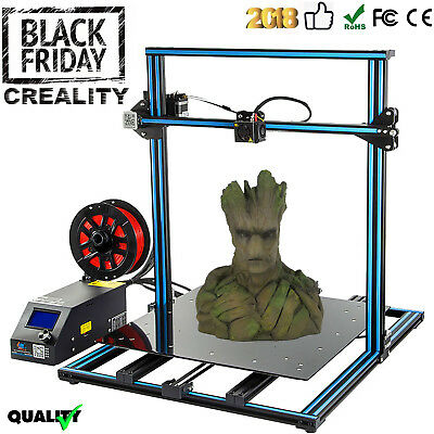 Creality 3D CR-10 3D Printer LCD Screen DIY Printer Large Size 300*300*400 Gelb