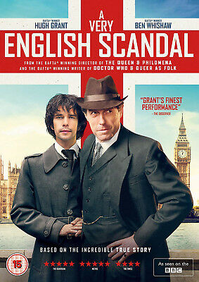 A VERY ENGLISH SCANDAL COMPLETE SERIES 1 DVD First Season Hugh Grant UK New R2