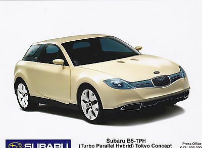 Official SUBARU Press Photo of the B5-TPH Concept Car
