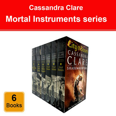 Cassandra Clare The Mortal Instruments series 6 books set Young Adult pack NEW