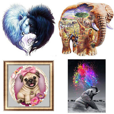 5D Diamond Painting Embroidery Cross Stitch Pictures Arts Craft Kit Mural Dec EL