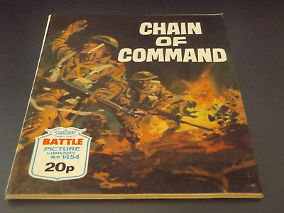 BATTLE PICTURE LIBRARY NO 1454,dated 1981!,V GOOD FOR AGE,VERY RARE,37 yrs old.