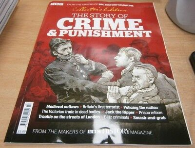 BBC History magazine Collector's Edition 2018 The Story of Crime &  Punishment