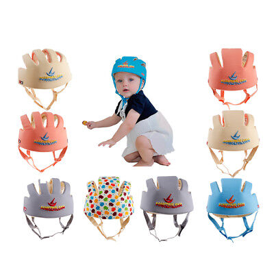 Baby Toddler Safety Helmet Headguard Kid Protection Hat Harnesses Cap Adjustable