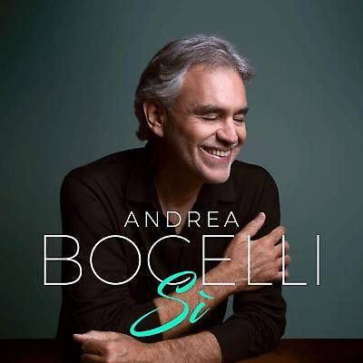 Andrea Bocelli - Si [CD] Sent Sameday*