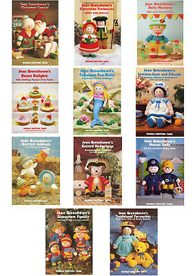 Jean Greenhowe Toy Knitting Pattern Booklets
