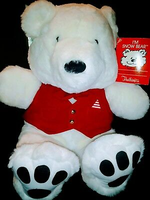 Vintage Snow Bear - ThalhimersI'm snow bear