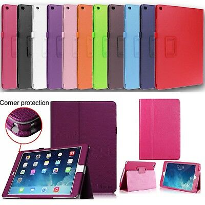 Genuine Apple iPad Smart Magnetic Leather Stand Case Cover Book for All iPad 9.7