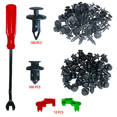 Auto Clips Bumper Clips Plastic Fasteners Rivet Kits For Ford GM Toyota Honda