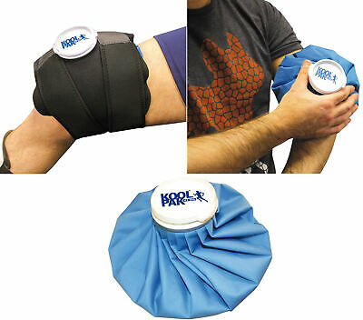 Koolpak Ice Bag - Cold Therapy Treatment | S M L | Optional Wrap | 1 - 10 Packs
