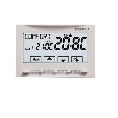 Perry Electric 1Tite541 Termostato Digitale Moon Ad Incasso 230V --- Soft Touch