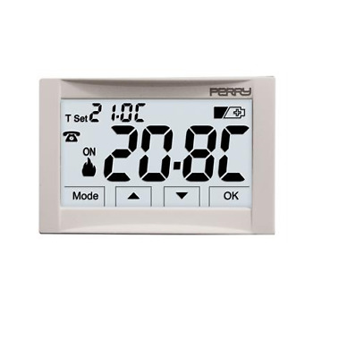 Perry Electric 1Tite542 Termostato Digitale Moon Ad Incasso 3V --- Touch Screen