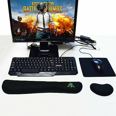 Gaming Wrist Support Pad Soft Gel Cushion Mouse Pad For PC Keyboard Xmas Gift
