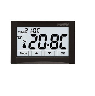 Perry Electric 1Tite543 Termostato Digitale Moon Incasso 230V --- Touch Screen