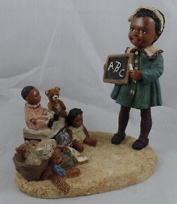 "All Gods Children Figurine ""lashay"" 1993 Miss Martha Originals"