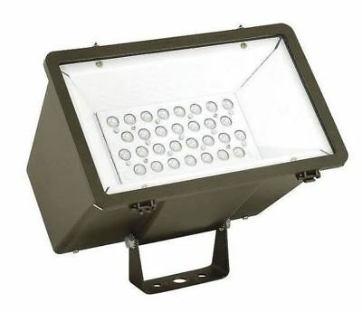 Hubbell MHS-Y-30LU-5K-W-BZ LED Dimmable Wide Floodlight